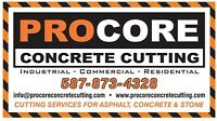Asphalt Coring & Concrete Cutting Services