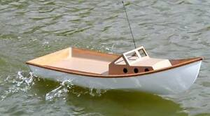 Wooden Model Boats with Transom RC