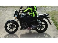 125cc motorbike for sale in perfect condition