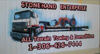 Stonehand Ent., Custom Towing & 24 Hr Roadside Assistance