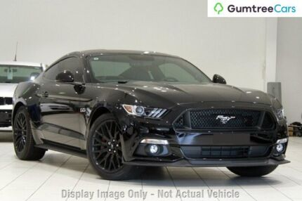 2017 Ford Mustang Fm 2017my Gt Fastback Black 6 Speed Manual
