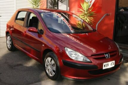 2003 peugeot 307 1 6 red 5 speed manual hatchback cars vans rh gumtree com au Peugeot 607 Manual Peugeot 307 Specifications