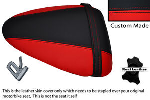 RED & BLACK CUSTOM 97-05 FITS APRILIA RS125 RS 125 REAR PILLION SEAT COVER