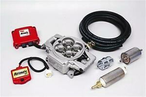 MSD ATOMIC EFI FUEL INJECTION SYSTEM 4BBL UP TO 525 HP MASTER KIT MSD2900