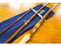 HARDYS VINTAGE MATCHMAKER 12FT FISHING ROD - IMMACULATE