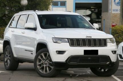 2016 Jeep Grand Cherokee WK MY16 75th Anniversary White 8 Speed Sports Automatic Wagon