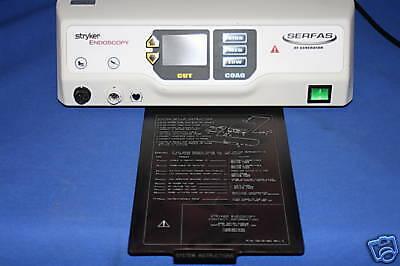 Stryker Endoscopy Serfas Rf Generator Console-115