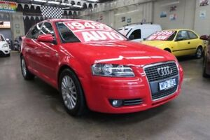 2008 Audi A3 8P Sportback 1.6 Attraction 6 Speed Tiptronic Hatchback Mordialloc Kingston Area Preview