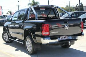 2016 Volkswagen Amarok 2H MY16 TDI420 4Motion Perm Highline Black 8 Speed Automatic Utility