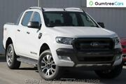 2017 Ford Ranger PX MkII 2018.00MY Wildtrak Double Cab White 6 Speed Sports Automatic Utility Wangara Wanneroo Area Preview