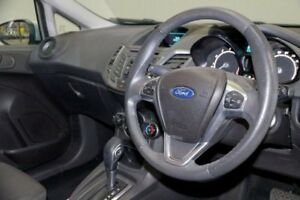 2013 Ford Fiesta WZ Ambiente PwrShift Silver 6 Speed Sports Automatic Dual Clutch Hatchback