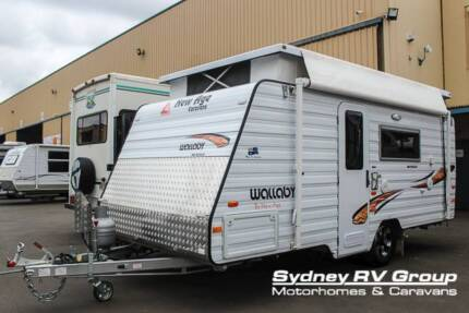 2015 New Age Wallaby WA15E Pop Top IMMACULATE - CU1060