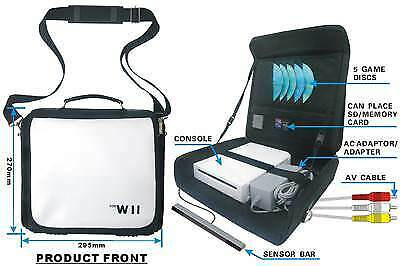 Carry Bag for Nintendo Wii console &  Brand NEW