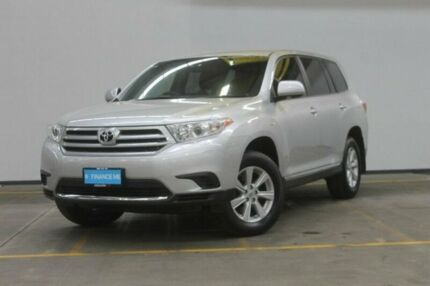 2013 Toyota Kluger GSU40R MY12 KX-R 2WD Silver 5 Speed Sports Automatic Wagon Brooklyn Brimbank Area Preview