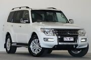 2016 Mitsubishi Pajero NX MY16 GLX LWB (4x4) White 5 Speed Auto Sports Mode Wagon Coopers Plains Brisbane South West Preview