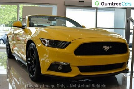 2017 Ford Mustang FM MY17 Fastback 2.3 Gtdi Triple Yellow 6 Speed Automatic Coupe