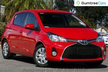 2014 Toyota Yaris NCP131R SX Grey 4 Speed Automatic Hatchback
