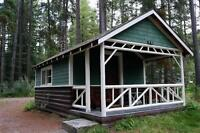 DISCOUNTED CABIN JOHNSTON CANYON ANY DATES UNTIL OCTOBER 2015