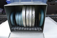 Nine Old Super 8 Reel Movies and Case