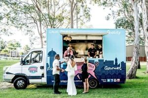 Ready-to-go food truck with great flexibility