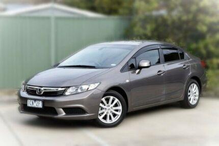 2013 Honda Civic 9th Gen Ser II VTi-L Grey 5 Speed Sports Automatic Sedan