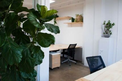 Warehouse shared office in Redfern. 20% off at Three Williams
