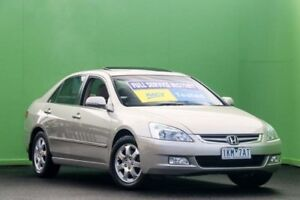 2006 Honda Accord 7th Gen MY06 V6 Luxury Gold 5 Speed Automatic Sedan Ringwood East Maroondah Area Preview