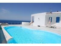 Holiday home Sardinia with private pool and seaview