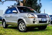 2009 Hyundai Tucson JM MY09 City SX Silver 4 Speed Sports Automatic Wagon Wangara Wanneroo Area Preview