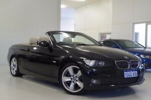 2007 BMW 335i E93 Steptronic Black 6 Speed Sports Automatic Convertible Myaree Melville Area Preview