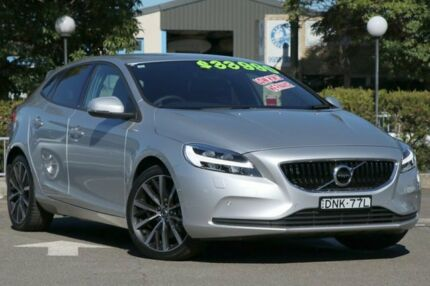 2017 Volvo V40 M Series MY17 T3 Adap Geartronic Momentum Silver 6 Speed Sports Automatic Hatchback