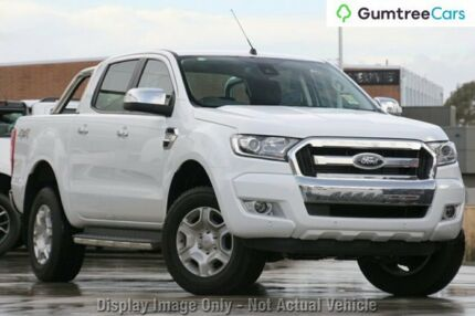 2017 Ford Ranger PX Mkii MY17 Update XLT 3.2 (4x4) Frozen White 6 Speed Manual Dual Cab Utility