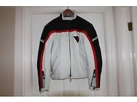 DAINESE Leather Motorcycle Jacket Size Euro 44