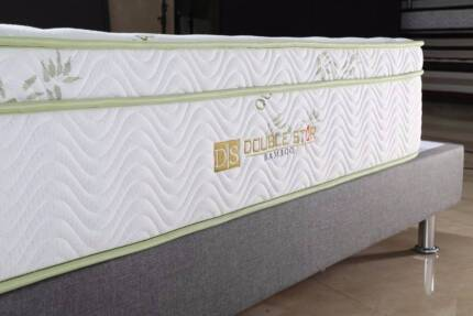 【Brand New】Memory Pedic Bamboo pocket spring mattress