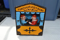 Early 1900's Castiron Punch and Judy Coin Bank