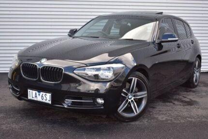 2012 BMW 118i F20 Black 8 Speed Sports Automatic Hatchback