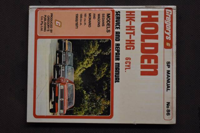 19681971 gregorys holden hk ht hg service repair manual no86 19681971 gregorys holden hk ht hg service repair manual no86 other books gumtree australia nillumbik area diamond creek 1156059619 sciox Gallery
