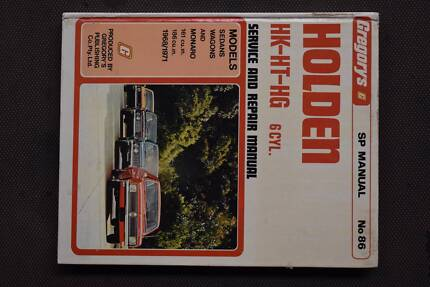 Holden hg ht hk in shepparton region vic gumtree australia free gregorys holden hk ht hg service repair manual no sciox Gallery