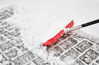 Shoveling by Hand!