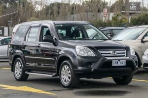 2006 Honda CR-V RD MY2006 Extra 4WD Black 5 Speed Automatic Wagon Ringwood East Maroondah Area Preview