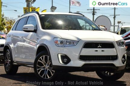 2015 Mitsubishi ASX XB MY15.5 LS 2WD White 6 Speed Constant Variable Wagon Hobart CBD Hobart City Preview