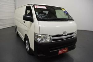 2013 Toyota Hiace KDH201R MY12 Upgrade LWB White 4 Speed Automatic Van