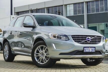 2015 Volvo XC60 DZ MY15 T6 Geartronic AWD Luxury Silver 6 Speed Sports Automatic Wagon Victoria Park Victoria Park Area Preview