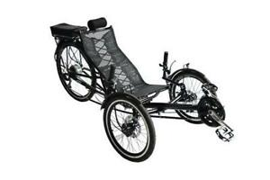 Recumbent Electric Assisted Peddle Bike from Soar Hobby 250W, 36V