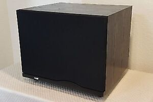 B&W Bowers & Wilkins ASW-1000 active subwoofer.