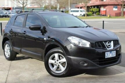 2012 Nissan Dualis J10W Series 3 MY12 ST Hatch X-tronic 2WD Black 6 Speed Constant Variable Berwick Casey Area Preview