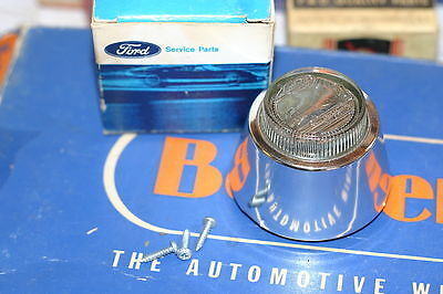 1961 1962 1963 Ford Back up Light Lens Assembly Genuine Ford Product