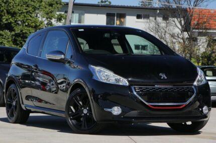 2013 Peugeot 208 A9 MY13 GTi Black 6 Speed Manual Hatchback