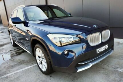 2011 BMW X1 E84 MY11.5 xDrive23d Steptronic Dark Blue 6 Speed Sports Automatic Wagon