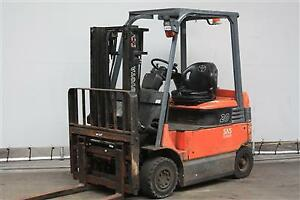 Used forklifts - evaluation, consultation, research